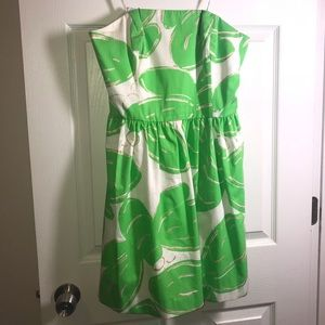 Lily Pulitzer strapless dress Size 12